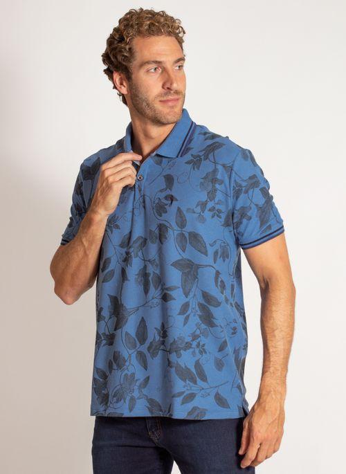 camisa-polo-aleatory-masculina-estampada-harmony-azul-modelo-4-
