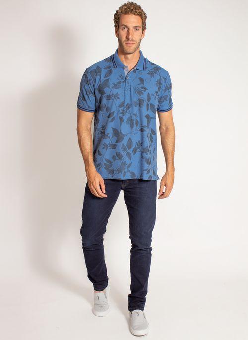 camisa-polo-aleatory-masculina-estampada-harmony-azul-modelo-5-