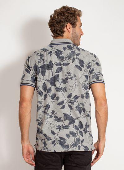 camisa-polo-aleatory-masculina-estampada-harmony-cinza-modelo-2-