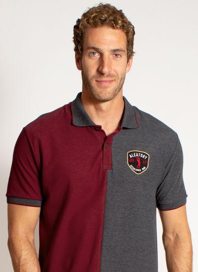 camisa-polo-aleatory-masculina-big-brasao-vinho-modelo-1-