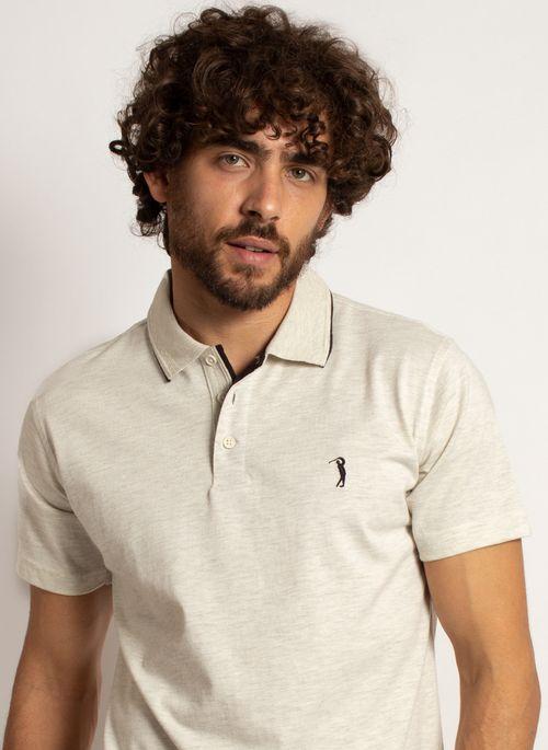 camisa-polo-aleatory-masculina-lisa-king-mescla-bege-modelo-1-