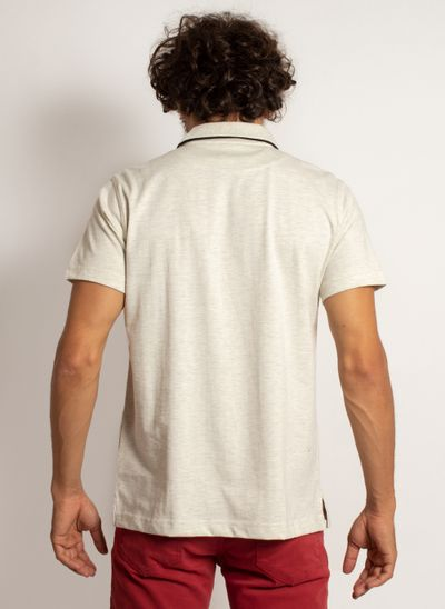 camisa-polo-aleatory-masculina-lisa-king-mescla-bege-modelo-2-