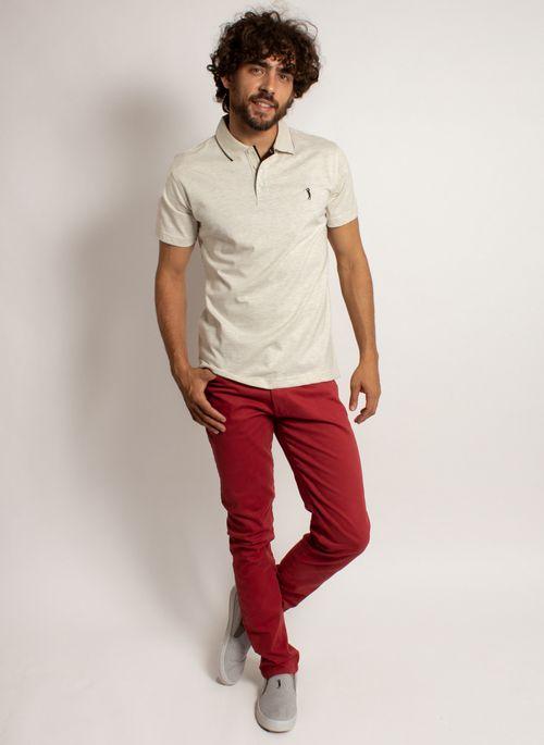 camisa-polo-aleatory-masculina-lisa-king-mescla-bege-modelo-3-