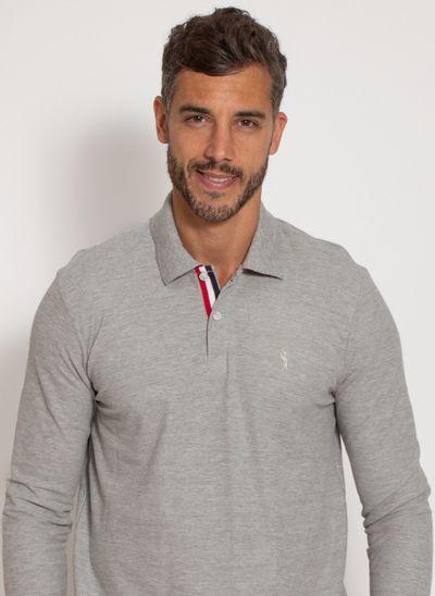 camisa-polo-aleatory-masculina-manga-longa-crypto-cinza-modelo-1-