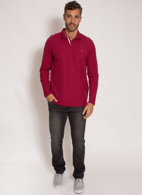 camisa-polo-aleatory-masculina-manga-longa-crypto-vermelho-modelo-3-