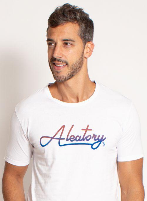 Camiseta masculina estilosa Aleatory é versátil e perfeita para usar até com calças de moletom