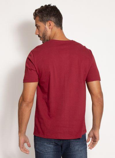 camiseta-aleatory-masculina-double-vinho-modelo-2-