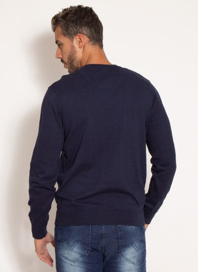 sueter-aleatory-masculino-gola-v-warm-azul-marinho-modelo-2-
