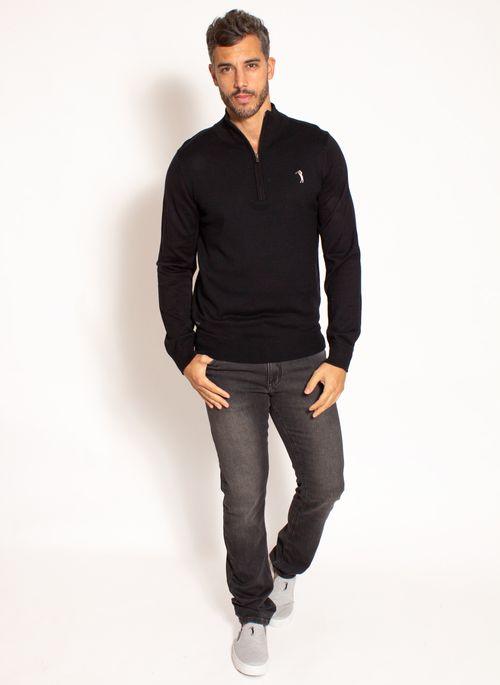 sueter-aleatory-masculino-meio-ziper-preto-modelo-3-