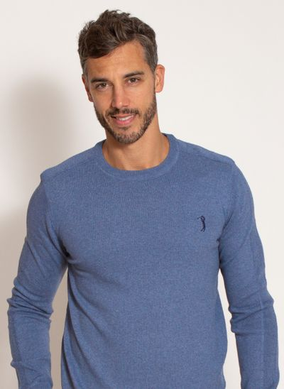 sueter-aleatory-masculino-liso-gola-careca-azul-mescla-modelo-2020-1-