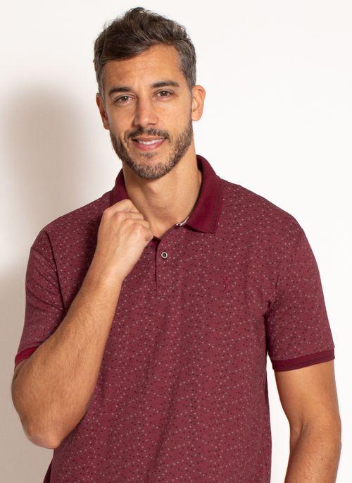 camisa-polo-aleatory-masculina-estampada-fan-vinho-modelo-1-