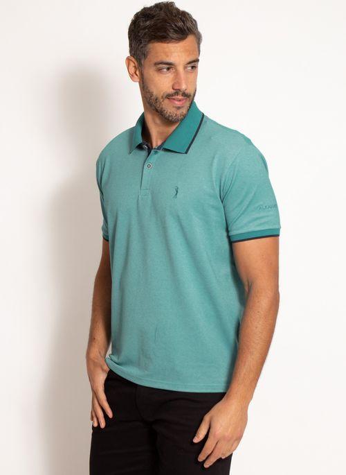camisa-polo-aleatory-masculina-scale-verde-modelo-4-
