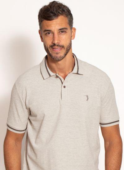 camisa-polo-aleatory-masculina-premium-bege-modelo-1-