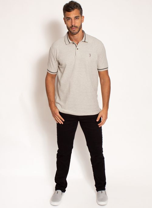 camisa-polo-aleatory-masculina-premium-bege-modelo-3-