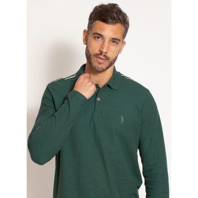 camisa-polo-aleatory-masculina-manga-longa-good-verde-modelo-1-