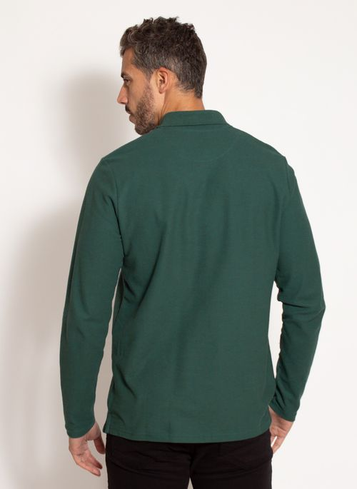 camisa-polo-aleatory-masculina-manga-longa-good-verde-modelo-2-