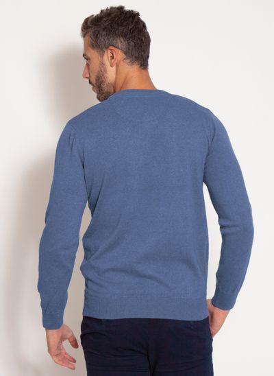 sueter-aleatory-masculino-gola-v-warm-azul-mescla-modelo-2-