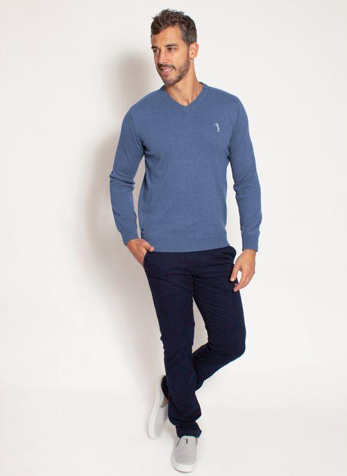 sueter-aleatory-masculino-gola-v-warm-azul-mescla-modelo-3-
