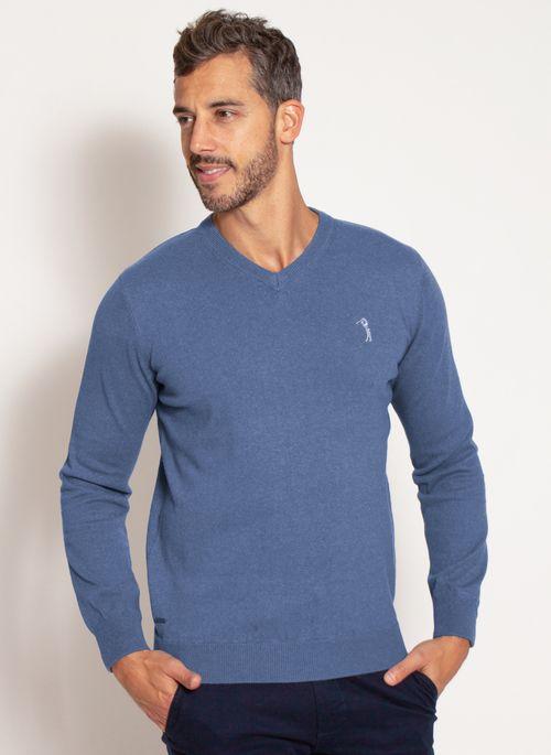 sueter-aleatory-masculino-gola-v-warm-azul-mescla-modelo-4-