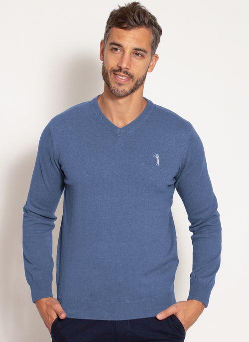 sueter-aleatory-masculino-gola-v-warm-azul-mescla-modelo-5-