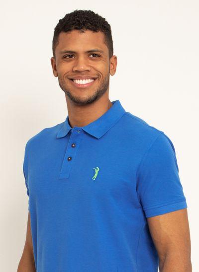 Camisa-Polo-Aleatory-Piquet-Pima-Lisa-Azul-modelo-2020-1-
