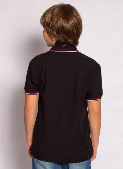 camisa-polo-aleatory-kids-hurricane-preta-modelo-2-