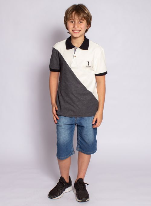 camisa-polo-aleatory-infantil-piquet-react-modelo-7-