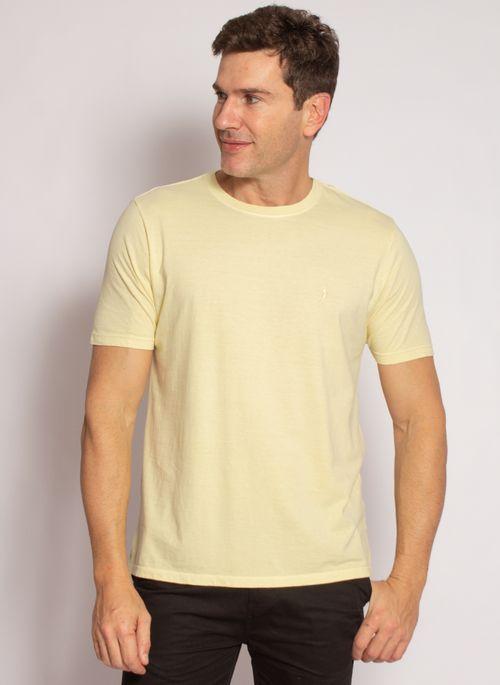 camiseta-aleatory-masculina-lisa-stonada-amarelo-modelo-5-