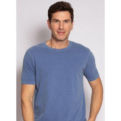 camiseta-aleatory-masculina-lisa-stonada-azul-modelo-1-