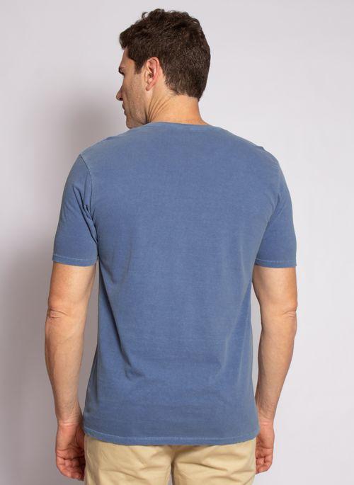 camiseta-aleatory-masculina-lisa-stonada-azul-modelo-2-