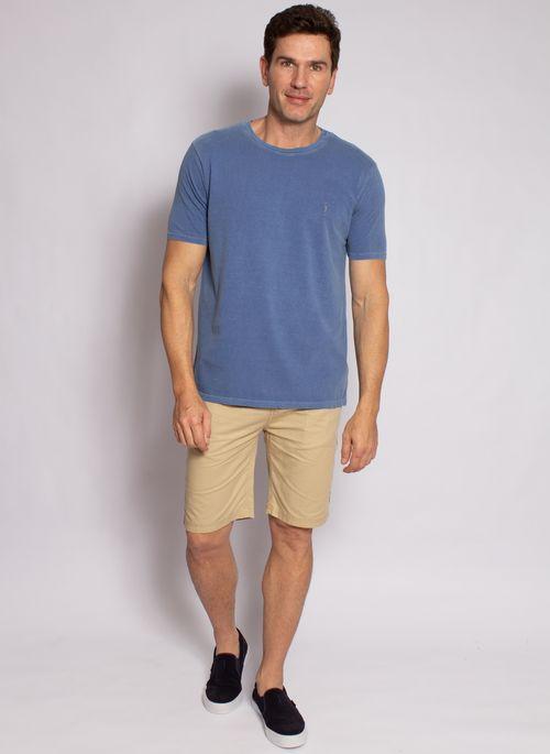 camiseta-aleatory-masculina-lisa-stonada-azul-modelo-3-