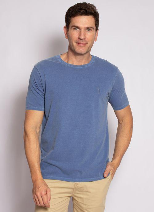 camiseta-aleatory-masculina-lisa-stonada-azul-modelo-4-