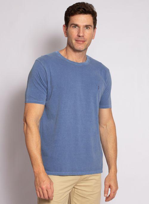 camiseta-aleatory-masculina-lisa-stonada-azul-modelo-5-