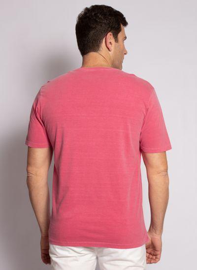 camiseta-aleatory-masculina-lisa-stonada-vermelho-modelo-2-