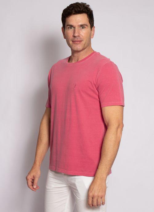 camiseta-aleatory-masculina-lisa-stonada-vermelho-modelo-4-
