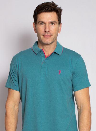 camisa-polo-aleatory-masculina-lisa-king-azul-azul-turquesa-modelo-1-1-