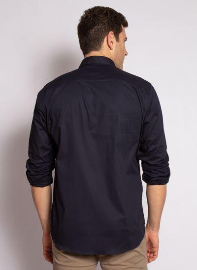 camisa-aleatory-masculina-slim-fit-lisa-lycra-marinho-modelo-2-