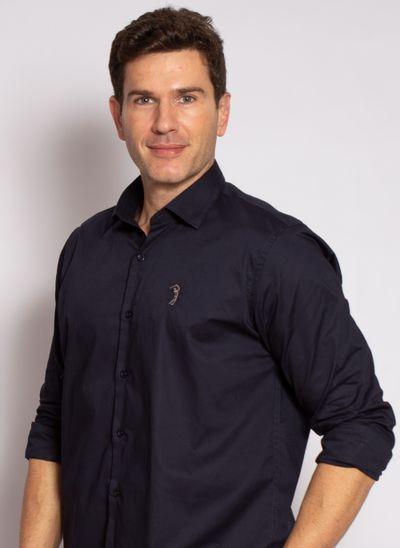 camisa-aleatory-masculina-slim-fit-lisa-lycra-marinho-modelo-1-
