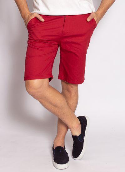 bermuda-sarja-leatory-masculina-clever-vermelho-modelo-1-