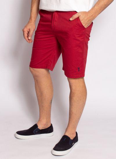 bermuda-sarja-leatory-masculina-clever-vermelho-modelo-2-