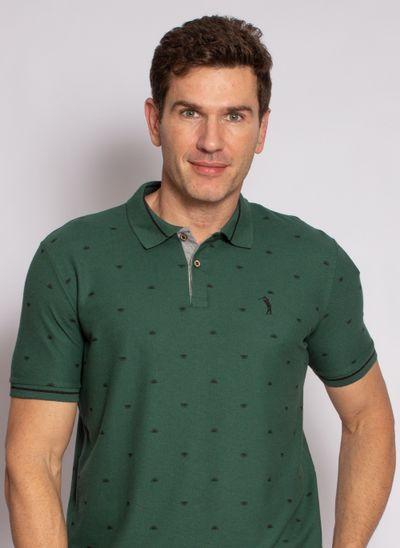 camisa-polo-aleatory-masculina-estampada-sun-verde-modelo-1-