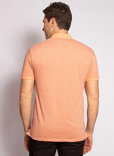 camisa-polo-aleatory-masculina-bonote-gola-jacquard-laranja-modelo-2-
