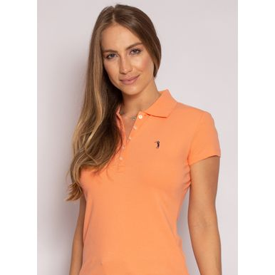 camisa-polo-aleatory-feminina-lisa-laranja-modelo-2020-1-