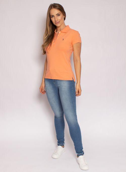 camisa-polo-aleatory-feminina-lisa-laranja-modelo-2020-3-
