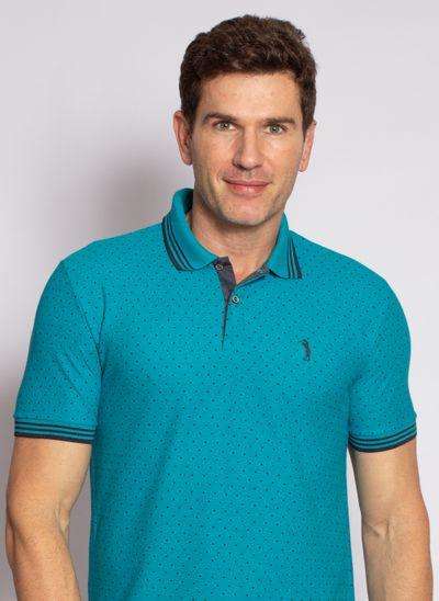 camisa-polo-aleatory-masculina-mini-print-square-azul-modelo-2020-1-