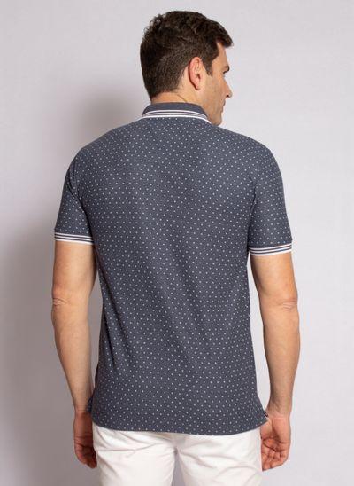 camisa-polo-aleatory-masculina-mini-print-square-azul-marinho-modelo-2020-2-