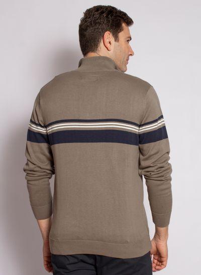 sueter-aleatory-masculino-gola-ziper-listrado-marrom-modelo-2020-2-