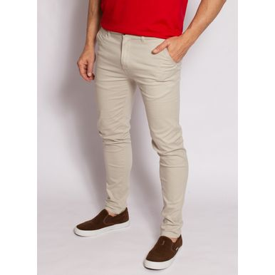 calca-aleatory-masculina-sarja-fine-bege-modelo-2020-1-