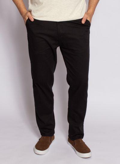 calca-aleatory-masculina-sarja-fine-preto-modelo-2020-1-