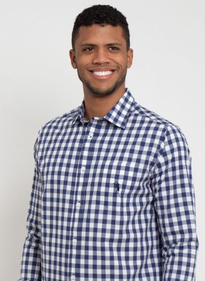 camisa-aleatory-masculina-xadrez-night-marinho-modelo-1-